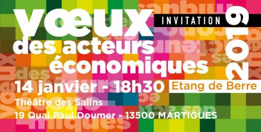 Invitation vœux UPE 13 à Martigues