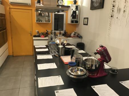 Remise de -10% sur tous les cours de cuisine